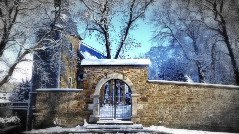 Eingang Kupfermeisterfriedhof