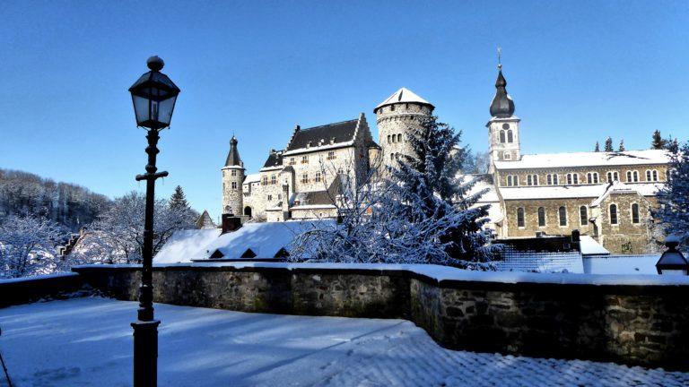 Ansicht von der Finkenbergkirche