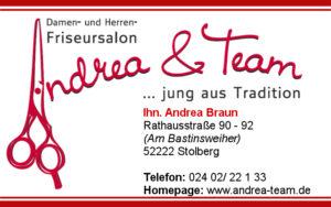 Andrea & Team