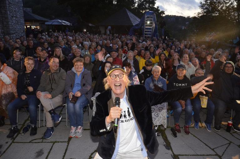 Otto Walkes vor Publikum - Schau!Burg 16.08.2021 in Stolberg